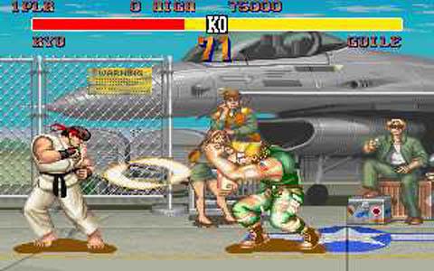 Aperçu du jeu Street Fighter II