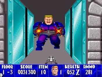 Aperçu du jeu Wolfenstein 3D